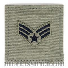 上等空兵(Senior Airman)[ABU/空軍階級章/ベルクロ付パッチ]の画像