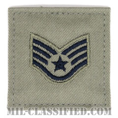 軍曹(Staff Sergeant)[ABU/空軍階級章/ベルクロ付パッチ]の画像
