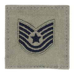 技能軍曹(Technical Sergeant)[ABU/空軍階級章/ベルクロ付パッチ]の画像