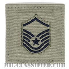 曹長(Master Sergeant)[ABU/空軍階級章/ベルクロ付パッチ]の画像