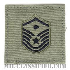 先任曹長(First Sergeant (E-7))[ABU/空軍階級章/ベルクロ付パッチ]の画像