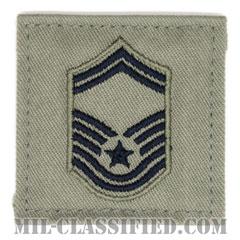 上級曹長(Senior Master Sergeant)[ABU/空軍階級章/ベルクロ付パッチ]の画像