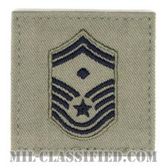 先任上級曹長(First Sergeant (E-8))[ABU/空軍階級章/ベルクロ付パッチ]の画像