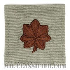 少佐(Major (MAJ))[ABU/空軍階級章/ベルクロ付パッチ]の画像