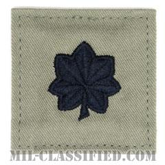 中佐(Lieutenant Colonel (LTC))[ABU/空軍階級章/ベルクロ付パッチ]の画像