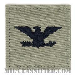 大佐(Colonel (COL))[ABU/空軍階級章/ベルクロ付パッチ]の画像
