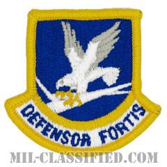 空軍警備隊 (セキュリティーフォース・下士官用)(Security Forces Enlisted Beret Flash)[カラー/メロウエッジ/ベレーフラッシュパッチ]の画像