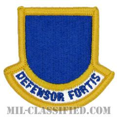 空軍警備隊 (セキュリティーフォース・将校用)(Security Forces Officer Beret Flash)[カラー/メロウエッジ/ベレーフラッシュパッチ]の画像