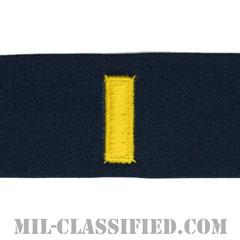 少尉(Ensign)[カバーオール/海軍階級章/生地テープパッチ/ペア(2枚1組)]の画像