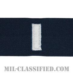 中尉(Lieutenant Junior Grade)[カバーオール/海軍階級章/生地テープパッチ/ペア(2枚1組)]の画像