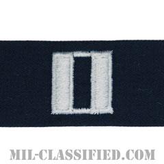 大尉(Lieutenant)[カバーオール/海軍階級章/生地テープパッチ/ペア(2枚1組)]の画像