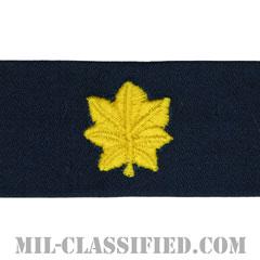 少佐(Lieutenant Commander)[カバーオール/海軍階級章/生地テープパッチ/ペア(2枚1組)]の画像