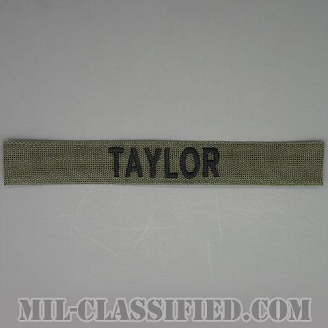 TAYLOR [サブデュード/ネームテープ/パッチ]の画像