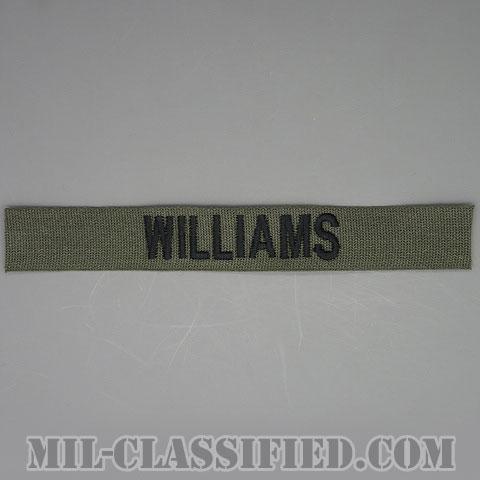 WILLIAMS [サブデュード/ネームテープ/パッチ]の画像