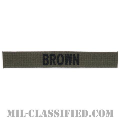 BROWN [サブデュード/ネームテープ/パッチ]の画像