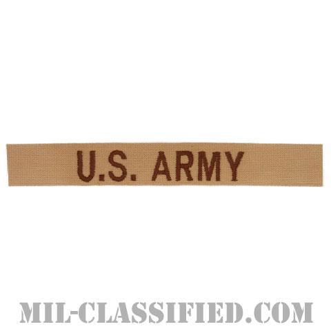 U.S.ARMY [デザート/ブラウン刺繍/ネームテープ/パッチ]の画像