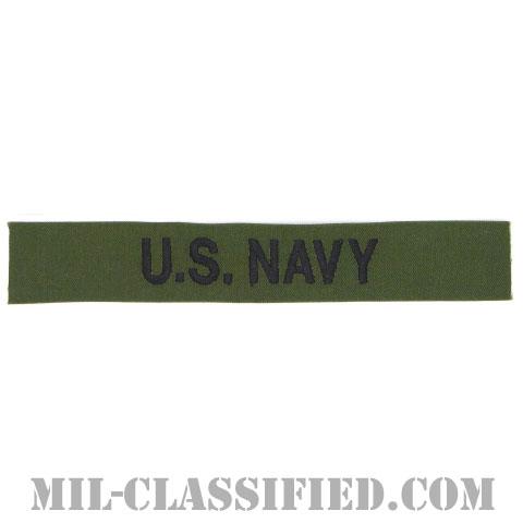 U.S.NAVY [サブデュード/海軍ネームテープ/生地テープパッチ]の画像