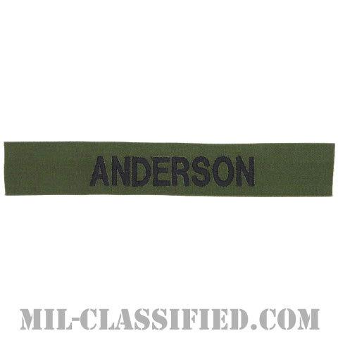 ANDERSON [サブデュード/海軍ネームテープ/生地テープパッチ]の画像