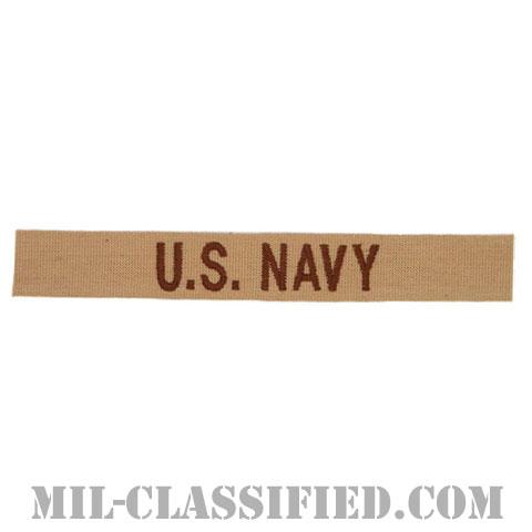 U.S.NAVY [デザート/ネームテープ/パッチ]の画像