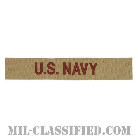 U.S.NAVY [デザート/海軍ネームテープ/生地テープパッチ]の画像