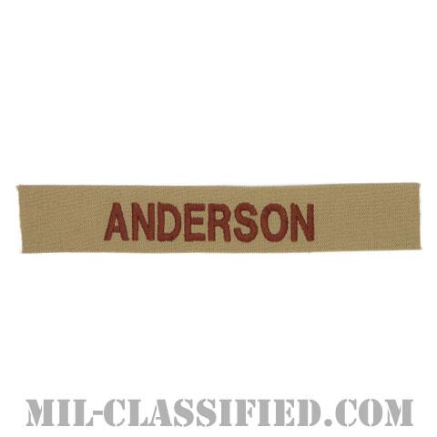 ANDERSON [デザート/海軍ネームテープ/生地テープパッチ]の画像