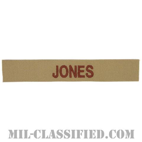 JONES [デザート/海軍ネームテープ/生地テープパッチ]の画像