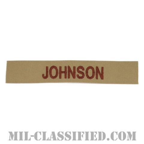 JOHNSON [デザート/海軍ネームテープ/生地テープパッチ]の画像
