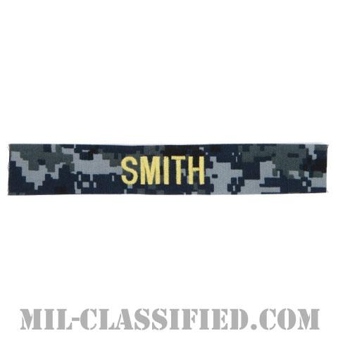 SMITH [NWU Type1/ゴールド刺繍/海軍ネームテープ/生地テープパッチ]の画像
