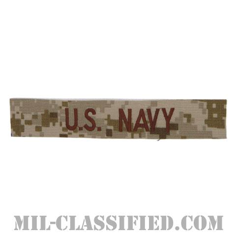 U.S.NAVY [NWU Type2(AOR1)/海軍ネームテープ/生地テープパッチ]の画像
