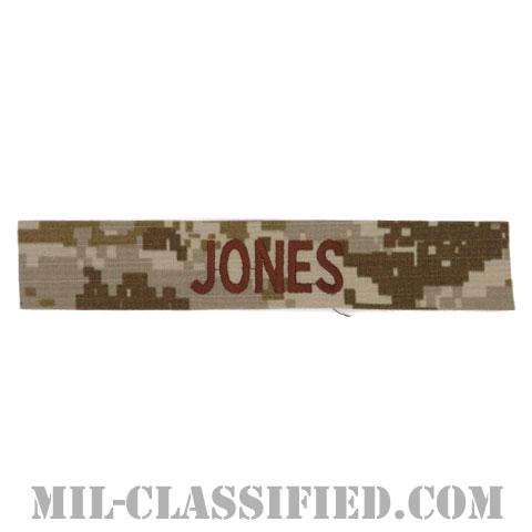 JONES [NWU Type2(AOR1)/海軍ネームテープ/生地テープパッチ]の画像