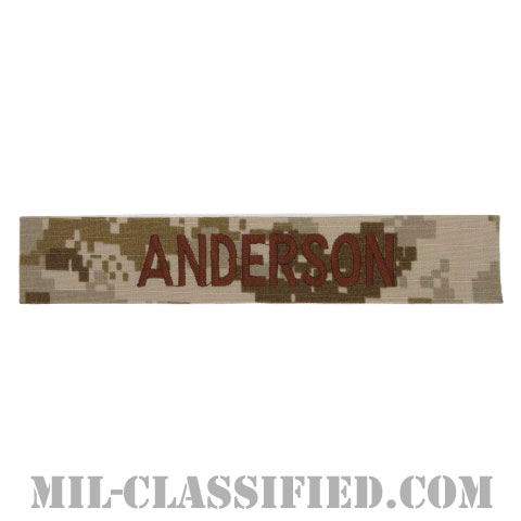 ANDERSON [NWU Type2(AOR1)/海軍ネームテープ/生地テープパッチ]の画像