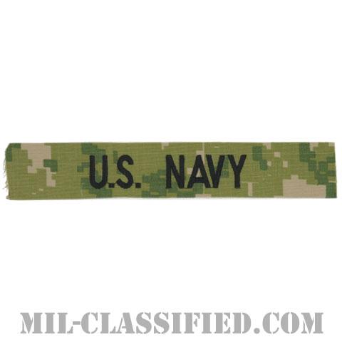 U.S.NAVY [NWU Type3(AOR2)/海軍ネームテープ/生地テープパッチ]の画像