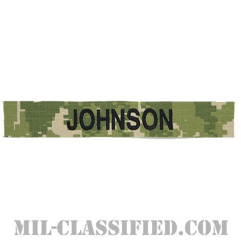 JOHNSON [NWU Type3(AOR2)/海軍ネームテープ/生地テープパッチ]の画像
