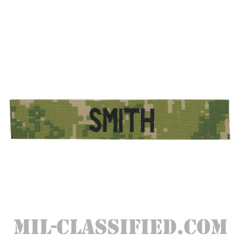 SMITH [NWU Type3(AOR2)/海軍ネームテープ/生地テープパッチ]の画像