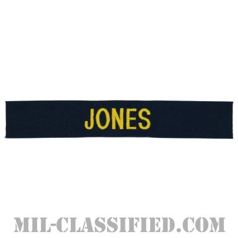 JONES [カバーオール用/ゴールド刺繍/海軍ネームテープ/生地テープパッチ]の画像