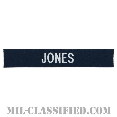 JONES [カバーオール用/シルバー刺繍/海軍ネームテープ/生地テープパッチ]の画像