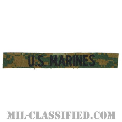 U.S.MARINES [MARPAT/ウッドランド/海兵隊ネームテープ/生地テープパッチ]の画像