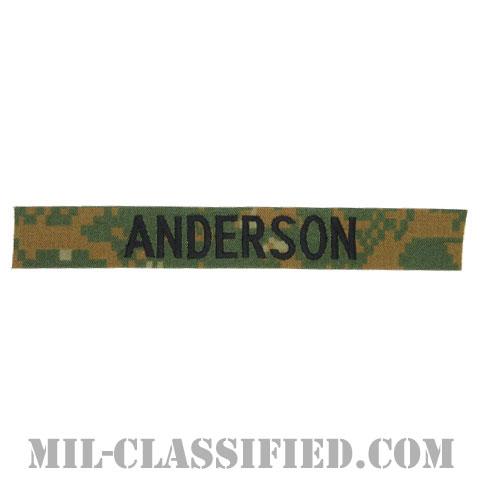 ANDERSON [MARPAT/ウッドランド/海兵隊ネームテープ/生地テープパッチ]の画像