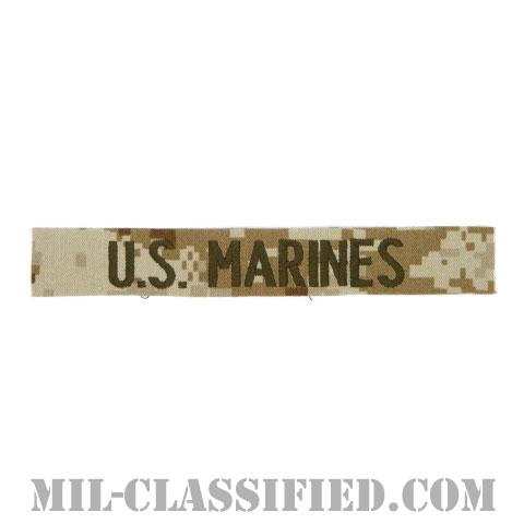 U.S.MARINES [MARPAT/デザート/海兵隊ネームテープ/生地テープパッチ]の画像