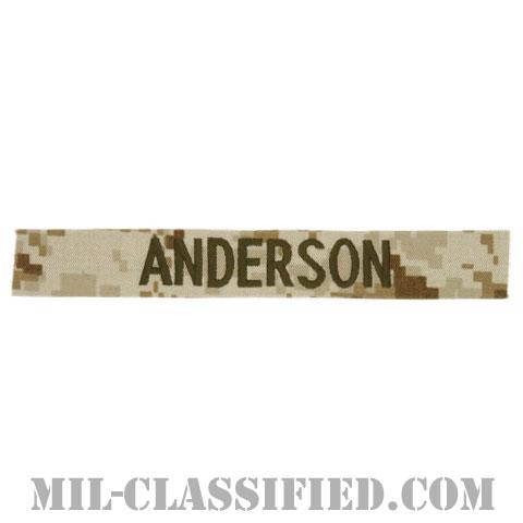 ANDERSON [MARPAT/デザート/海兵隊ネームテープ/生地テープパッチ]の画像