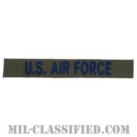 U.S.AIR FORCE [サブデュード/ブルー刺繍/空軍ネームテープ/パッチ]の画像