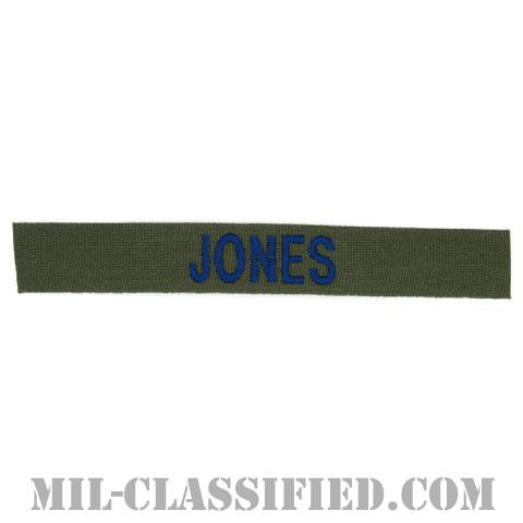 JONES [サブデュード/ブルー刺繍/空軍ネームテープ/パッチ]の画像