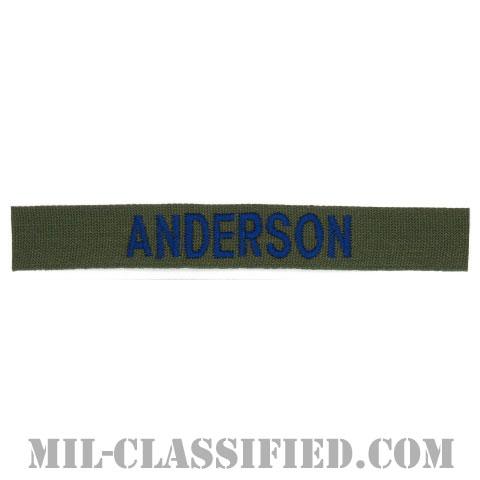 ANDERSON [サブデュード/ブルー刺繍/空軍ネームテープ/パッチ]の画像