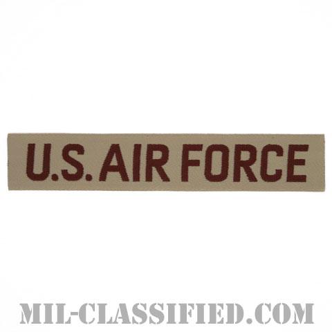 U.S.AIR FORCE [デザート/機械織り/空軍ネームテープ/パッチ]の画像