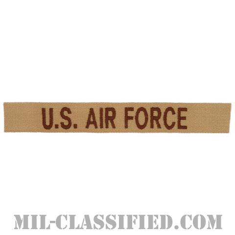 U.S.AIR FORCE [デザート/空軍ネームテープ/パッチ]の画像