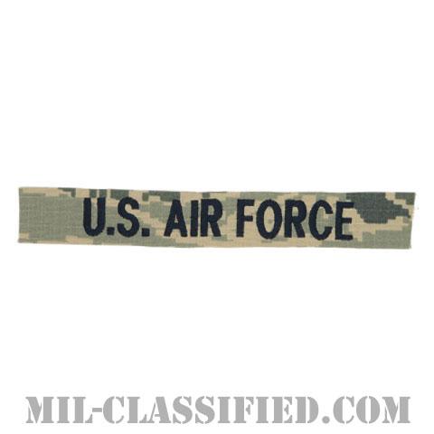 U.S.AIR FORCE [ABU/ブルー刺繍/空軍ネームテープ/生地テープパッチ]画像