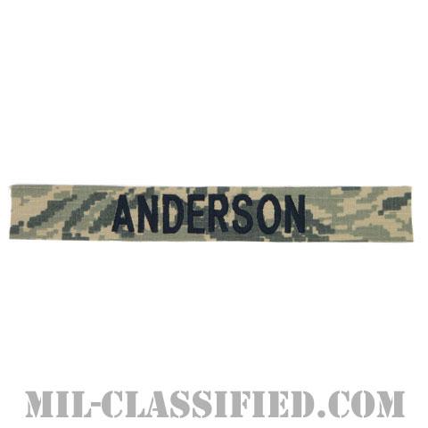 ANDERSON [ABU/ブルー刺繍/空軍ネームテープ/生地テープパッチ]の画像