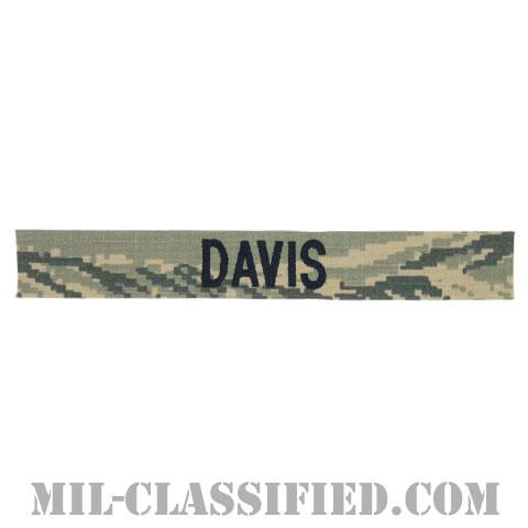 DAVIS [ABU/ブルー刺繍/空軍ネームテープ/生地テープパッチ]の画像