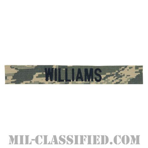 WILLIAMS [ABU/ブルー刺繍/空軍ネームテープ/生地テープパッチ]の画像