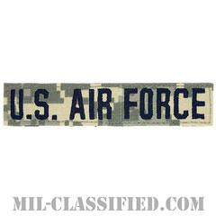 U.S.AIR FORCE [UCP(ACU)/ブルー刺繍/空軍ネームテープ/ベルクロ付パッチ]の画像